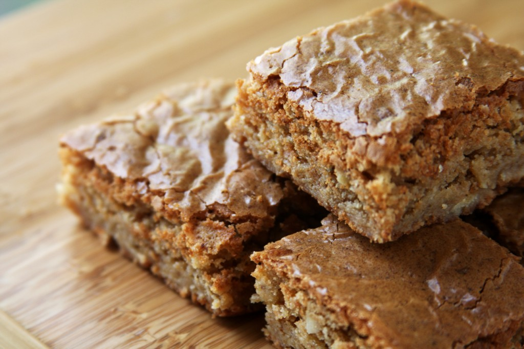 Browned Butter Toffee Blondies