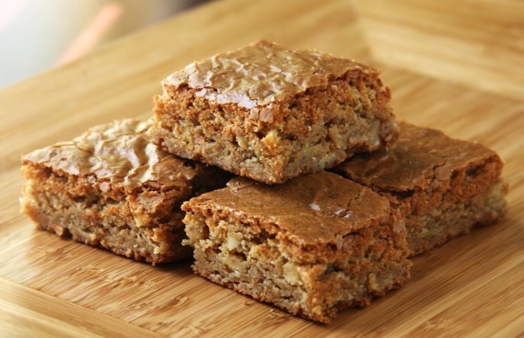 Erin's Food Files » Browned Butter Toffee Blondies