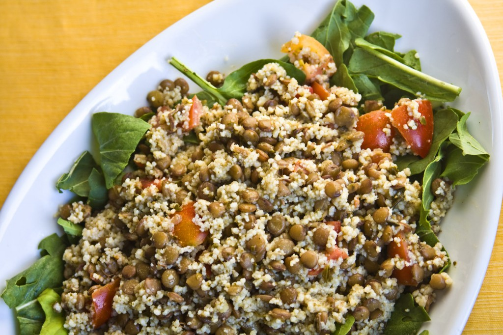 Coucous Salad Erins food files lentil and couscous salad this salad is the result of my very first csa box wait thats not right ive been doing a csa for 4 years now this is actually a result of my sisterspd