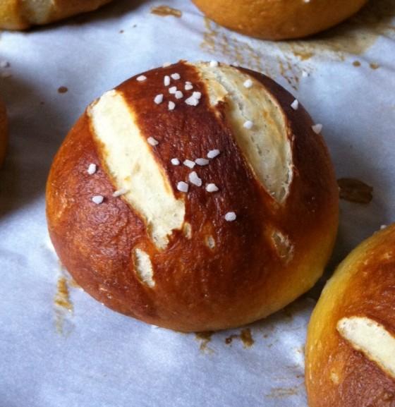 Erin's Food Files » Salted Pretzel Rolls