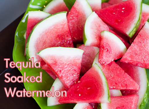 Lisa Blog: Alcohol Soaked Watermelon