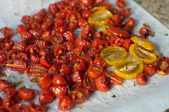 slow roasted tomatoes ingredients cherry grape or small roma tomatoes ...